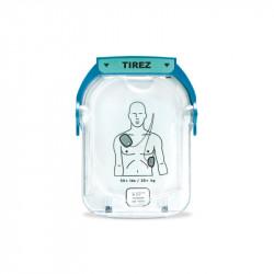 Electrodes adultes pour défibrillateur Philips Heartstart HS1