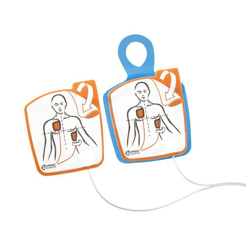 Electrodes adultes pour défibrillateur Cardiac Science Powerheart G5