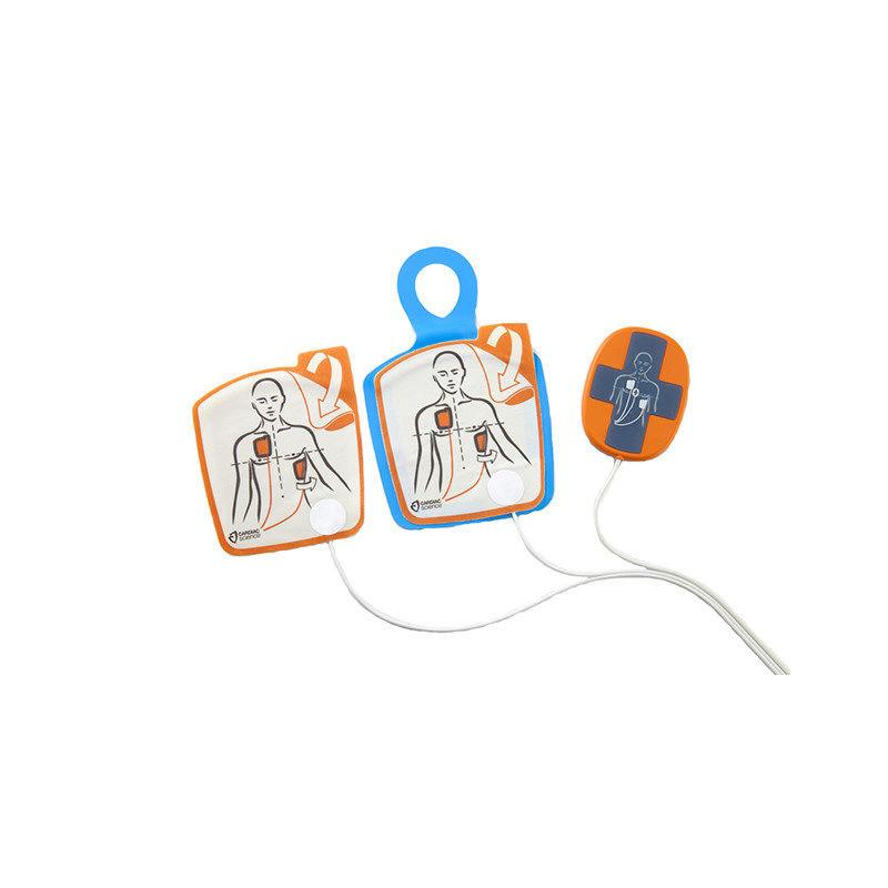 Electrodes adultes avec RCP pour défibrillateur Cardiac Science Powerheart G5