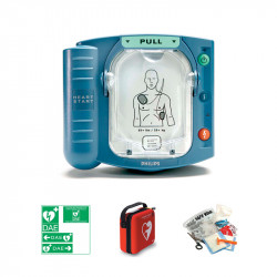 Pack défibrillateur Philips HS1 + housse de transport